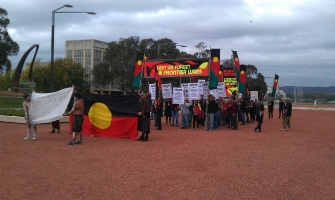 Canberra march