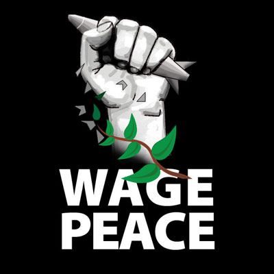 Welcome to #WAGEPEACE